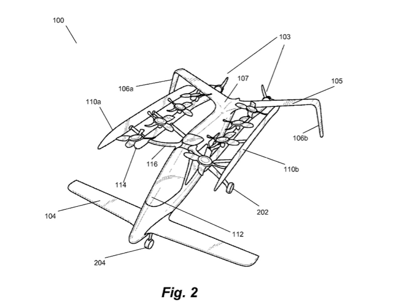Flying car from Larry Page