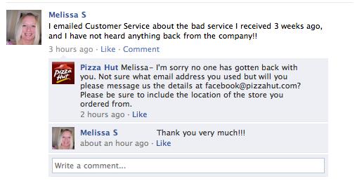 pizza-hut-facebook-customer-service