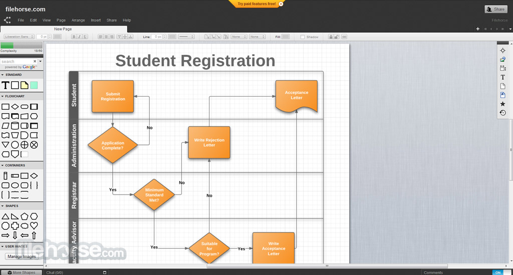Algorithm Flowchart Maker Chart Software And Program For