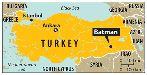 The Mayor of Batman, Turkey Sues Batman