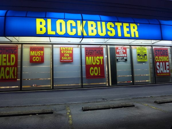 Blockbuster Rejecting Netflix