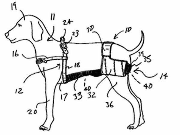Dog Chastity Belt