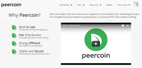 Peercoin Launches with Proof of Stake Security