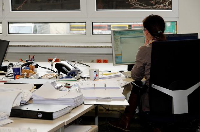 healthy desk job habits