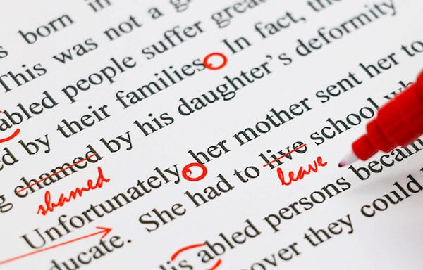 Spelling & Grammar Errors