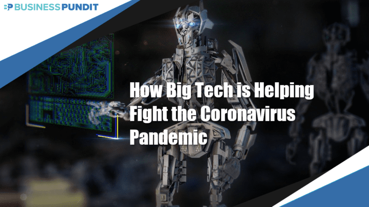 Big Tech Fighting Coronavirus