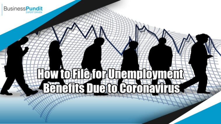 file for unemployment benefits
