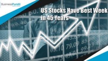 stock market best week