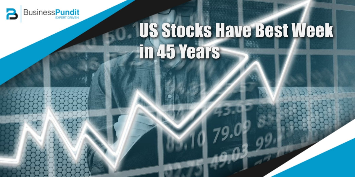US Stock Market Has Best Week in 45 Years