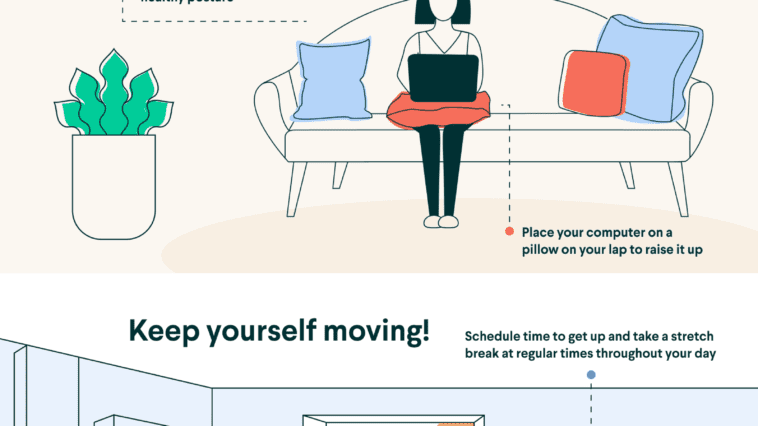 prevent back pain working from home