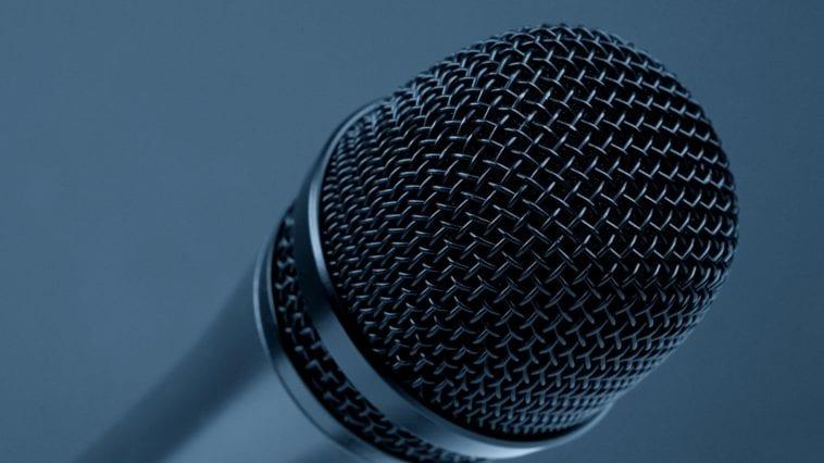microphone close-up photo