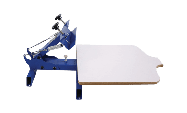 Simple Single 1 Color 1 Station NS101 Screen Printing Machine and INTBUYING Silk Screen Printing Press 1 Color