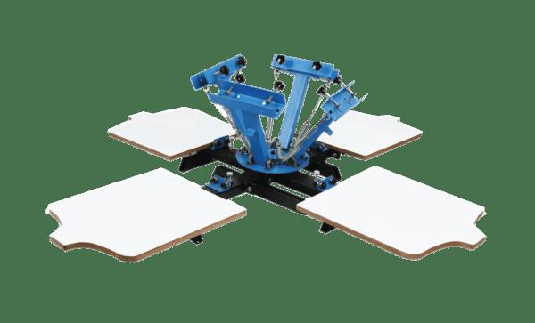 VEVOR 4 Color 4 Station Silk Screen Printing Machine and Techtongda 6 Color 6 Station Silk Screen Printing Press Machine