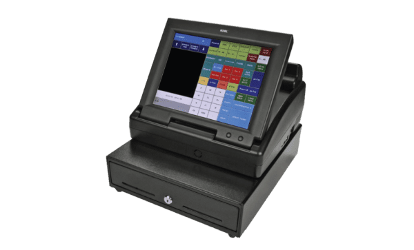 Royal TS1200MW Touch Screen Cash Register with 12-Inch LCD Screen